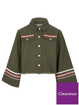 river-island-girls-khaki-embroidered-trim-shacket
