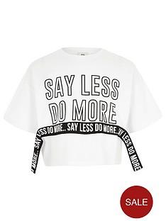 river-island-girls-white-lsquosay-less-do-morersquo-crop-t-shirt