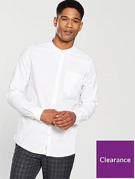 river-island-long-sleevenbspgrandad-collar-shirt