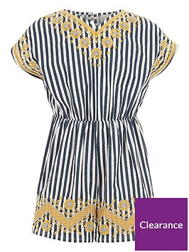 river-island-girls-blue-stripe-embroidered-playsuit