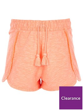 river-island-girls-jersey-tassel-shorts