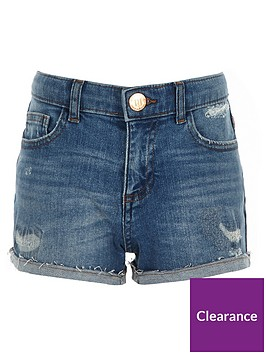 river-island-girls-bella-tape-side-denim-boyfriend-shorts