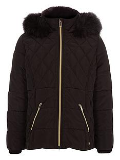 river-island-girls-black-faux-fur-trim-padded-coat
