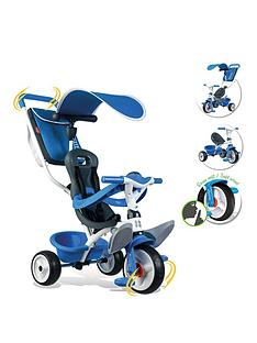 smoby-baby-balade-trike-blue