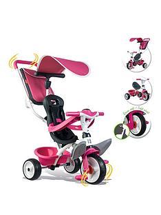 smoby-baby-balade-trike-pink