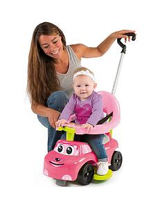 smoby-smoby-4-in-1-auto-bascule-ride-on-car-pink