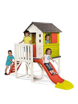smoby-my-house-on-stilts-with-slide