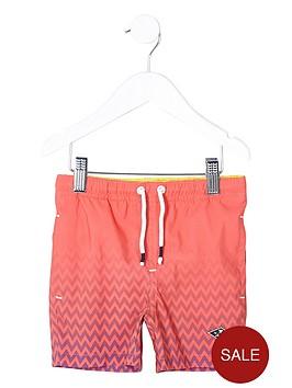 river-island-mini-boys-coral-fade-print-swim-shorts