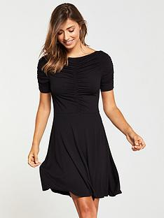 v-by-very-ruched-jersey-dress-blacknbsp