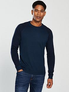ted-baker-ls-space-dyed-sleeve-crew-neck