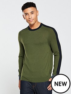 ted-baker-ls-colour-block-crew-neck