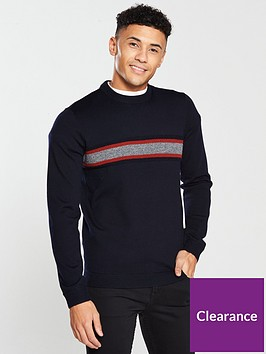 ted-baker-long-sleeve-striped-crew-neck-knit