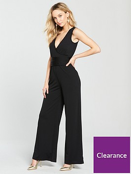 v-by-very-tie-waist-jersey-wrap-jumpsuit-black