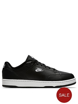 save off b2986 4e854 Nike Grandstand II Trainers - BlackWhite