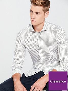 tommy-hilfiger-dotnbspprint-classic-slim-shirt-white
