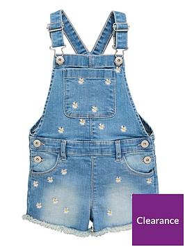 mini-v-by-very-girls-embroidered-denim-short-dungaree