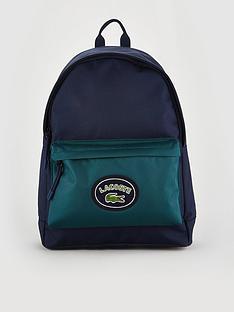 lacoste-sportswear-canvas-logo-rucksack