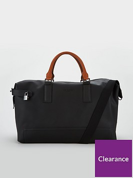 ted-baker-micro-perf-leather-holdall