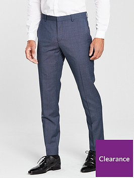 calvin-klein-mini-grid-suit-trouser