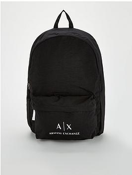 armani-exchange-logo-backpack