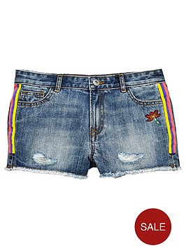 v-by-very-taped-denim-short
