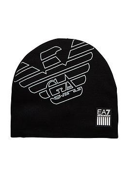 emporio-armani-ea7-eagle-beanie-hat