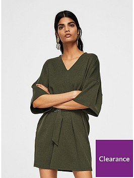 mango-kaftan-belted-dress-khaki
