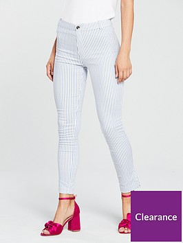 mango-stripe-skinny-trousers-bluewhite