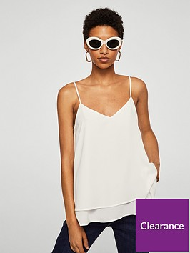 mango-double-layer-tie-back-cami-off-white