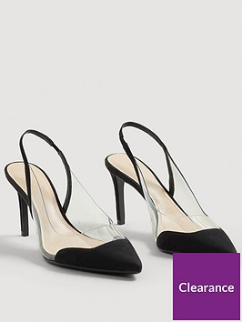 mango-gardenia-clear-detail-court-shoe-black