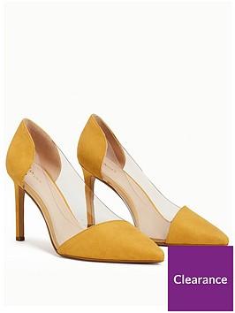 mango-alegra-perspex-court-shoe-mustard