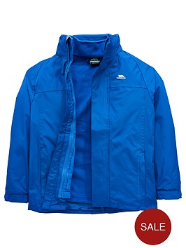 4738a04a0 Trespass Boys Skydive Ii 3 In 1 Jacket