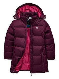 40ba4019de6 Trespass Tresspass Girls Tiffy Long Line Padded Jacket