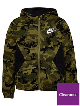 nike-nike-older-boys-nsw-club-fleece-camo-fz-hoodie