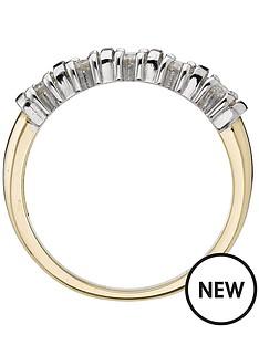 moissanite-18-carat-yellow-gold-50-point-5-stone-eternity-ring