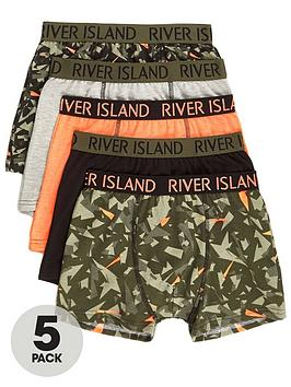river-island-boys-khaki-camo-trunks-multipack