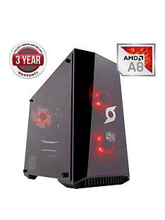 zoostorm-stormforce-onyx-amd-a8-processornbsp8gbnbspramnbsp1tbnbsphard-drive-gaming-pc-black