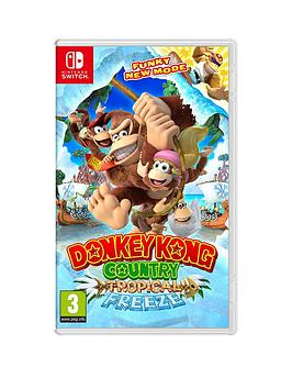 Nintendo Switch   Donkey Kong Country: Tropical Freeze &Ndash; Switch