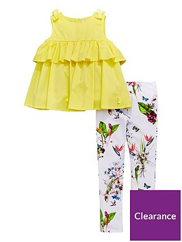 baker-by-ted-baker-girls-frill-top-amp-printed-legging-outfit