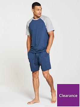 v-by-very-colour-block-raglan-jersey-pj-set