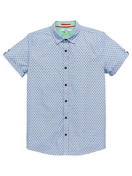 baker-by-ted-baker-boys-geo-dot-short-sleeve-shirt