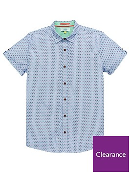 baker-by-ted-baker-boys-geo-dot-short-sleeve-shirt
