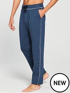 v-by-very-blue-striped-pj-bottoms