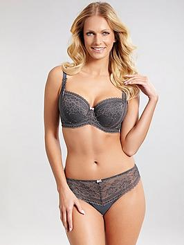 panache-petra-brief-charcoal-pink