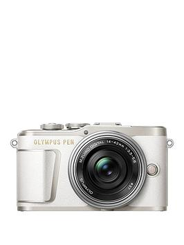 olympus-pen-e-pl9-compact-system-camera-with-14-42-ez-lens-white