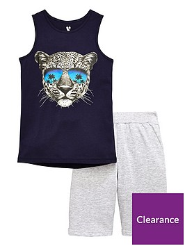 v-by-very-boys-tiger-vest-and-shorts-pj-set-multi