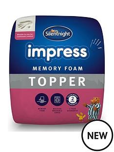 silentnight-impress-7-cm-memory-foam-mattress-topper