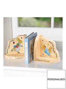 peter-rabbit-personalised-bookends
