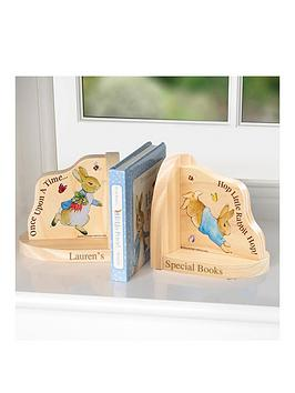 Peter Rabbit  Personalised Bookends