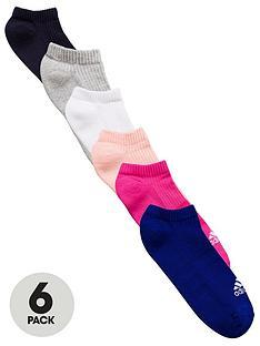 adidas-6-pack-no-show-socks-multicoloured